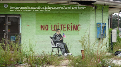 Banksy New Orleans no loitering