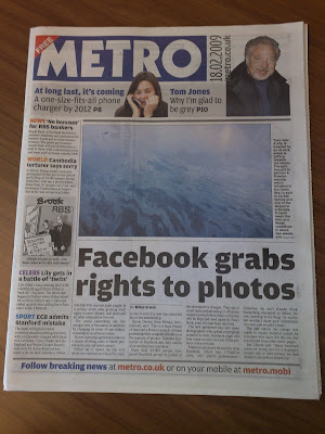 Metro Facebook grabs photo rights