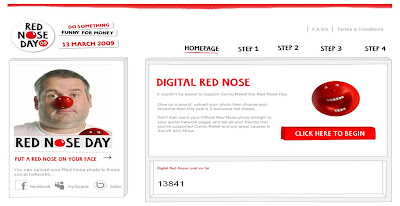 Digital Red Nose
