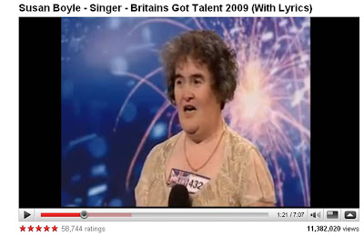 Susan Boyle on YouTube