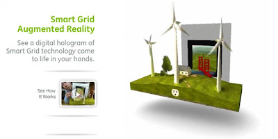 GE Smart Grid augmented reality
