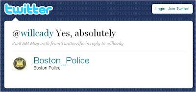 Twitter Boston Police Zombie Response