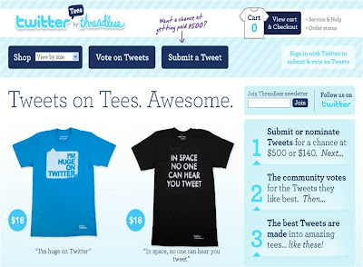 Twitter Tees by Threadless