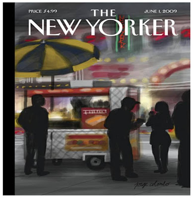 Jorge Columbo iPhone New Yorker cover