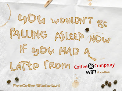 Coffee Company Latte Powerpoint ad