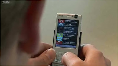 Nokia N95 BBC iPlayer menu