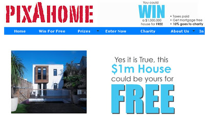 PixaHome Twitter house competition
