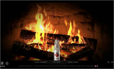 Burger King fragrance Roaring Fire