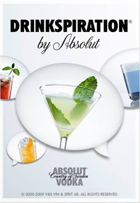 Absolut Drinkspiration iphone app
