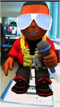 Virtual Sean - Sean Kingston Augmented Reality