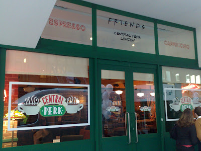 Friends Central Perk London storefront
