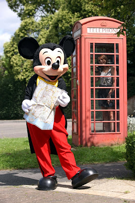 Mickey Mouse Disney World UK twin town competition
