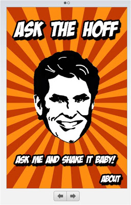 Ask The Hoff David Hasselhoff iPhone App