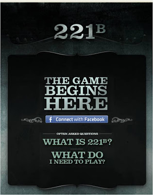 221b Sherlock Holmes Facebook Connect