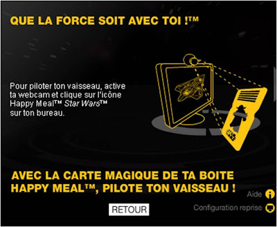 Star Wars Augmented Reality Happy Meal instructions 3