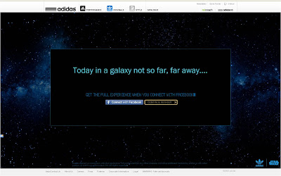 Adidas Star Wars Facebook Connect