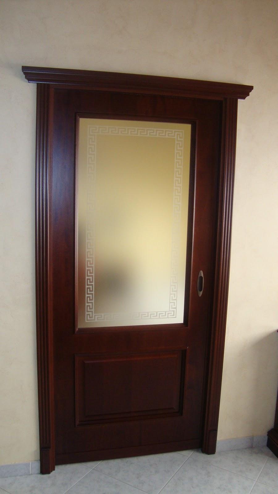 Ilvecchioartigiano bellissima porta in noce nazionale for Porta a libro noce