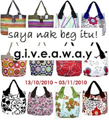 Saya Nak Beg Itu ~ Giveaway!