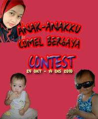 Anak-anakku Comel Bergaya Contest