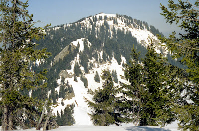 Samerberg-Hochries-Karkopf-Feichteck, Wandern im Schnee, Chiemgauer Alpen