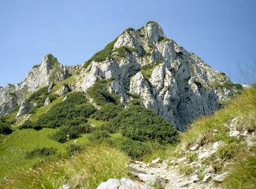 Aufstieg zur Pyramidenspitze - Blick auf Gipfelaufbau 05