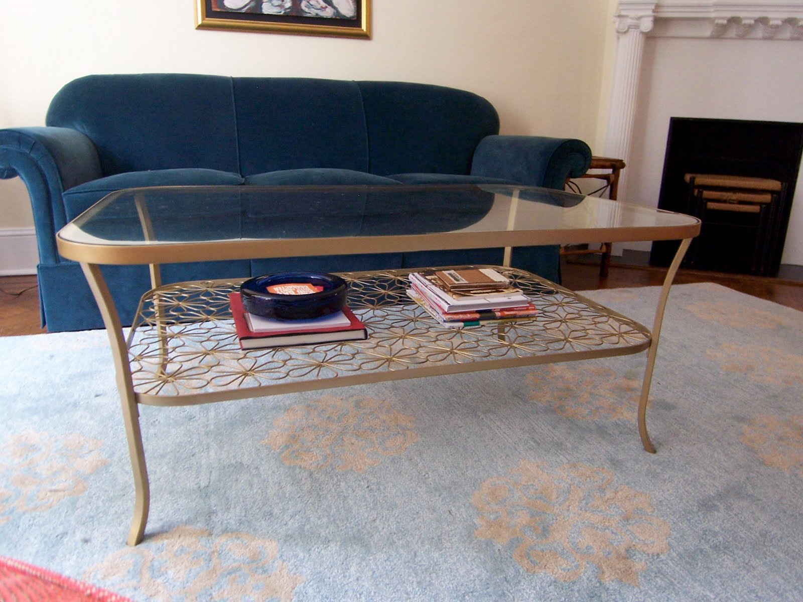 Bossy color s living room part 12 the coffee table for Does a living room need a coffee table