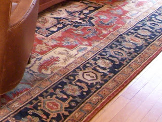 Annie Elliott's golden rule of interior decorating: Choose the rug first!