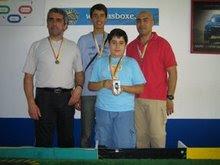 Mais um pódio pela AMVR, com o André Lopes o Roque e omeu filho Pedro