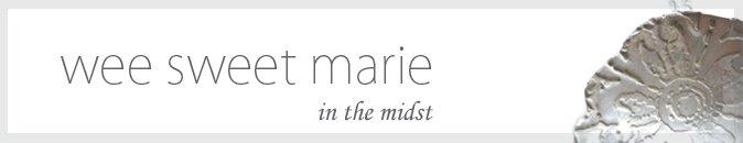 Wee Sweet Marie