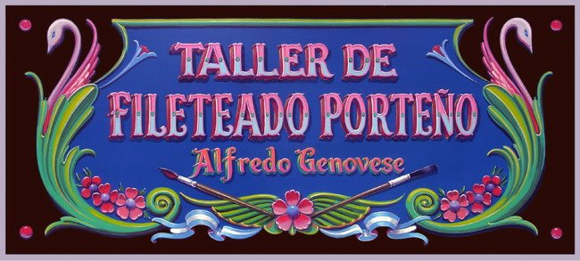 taller de fileteado porteo
