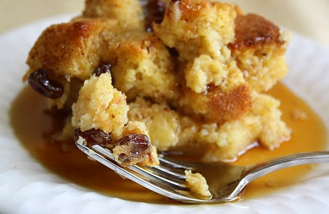 ... Sweets & Baking Journal: Sweet Corn Bread Pudding with Raisins