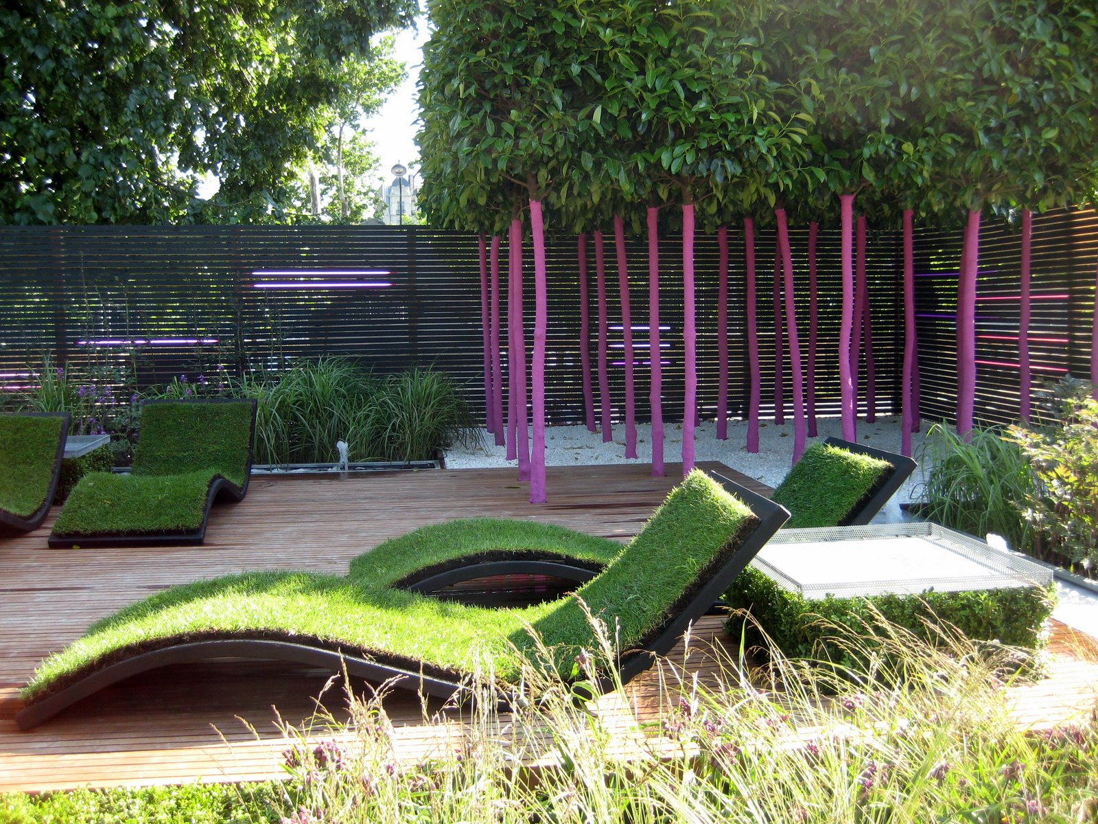 Jardins jardin how to cultivate an urban garden french for Architecture jardin