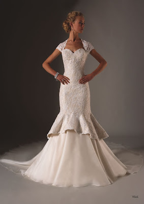 Glamour Cheap Wedding Dresses