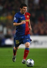the playmaker of barcelona...