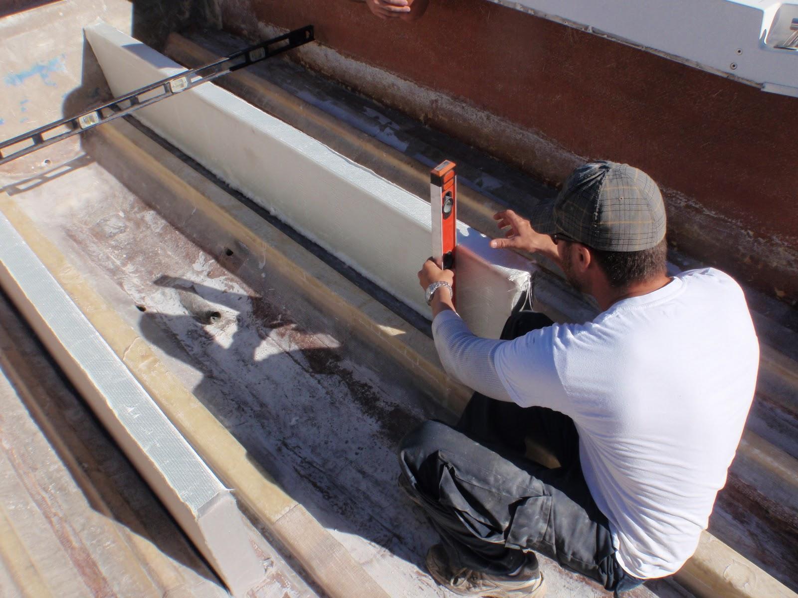 1981 23 Fish Nautique Restoration Bilge Stringer Install