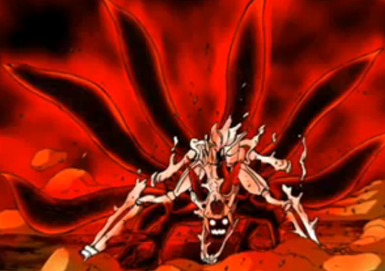 Naruto zorro de 9 colas