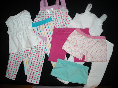 Old Days - Old Ways: Dollar Doll Clothes--from underwear!!