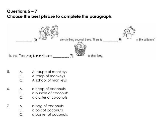 contoh soalan bahasa inggeris