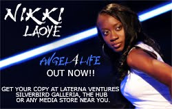 Nikki Laoye's Angel 4 Life Album Available@Laterna Ventures & Silverbird Media Stores