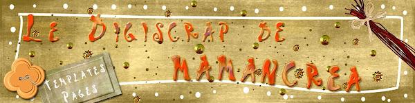 Le digiscrap de Mamancréa