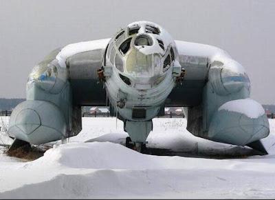 10 Pesawat Unik dan Aneh
