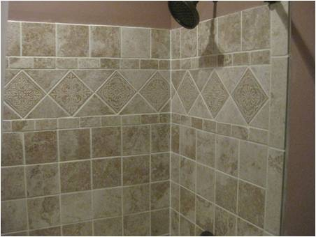 PICTURES - TILING A BATHTUB SURROUND - KANSAS CITY HOME