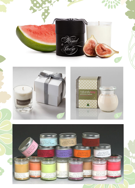 Chic Mother and Baby Soy Candles Pick