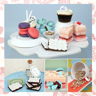 Alice in Wonderland inspired cakes at BakeLab