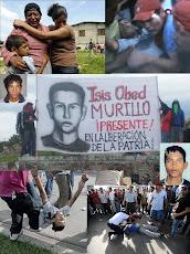 5 juin 2010 / 1ère anniversaire du meurtre d'Isis Obed Murillo.