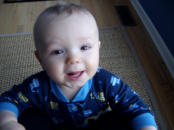 My precious boy!