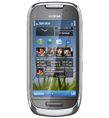 Feature of Nokia C7