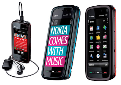 Feature of Nokia 5800 XpressMusicborder