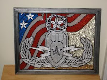 EOD MASTER Badge on GLass