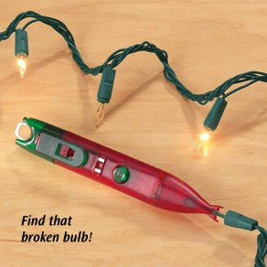 Christmas Light Bulb Checker